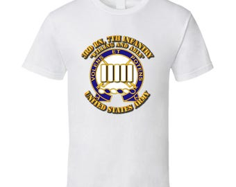 Army - 3rd Bn, 7th Infantry - Willing And Able T-shirt