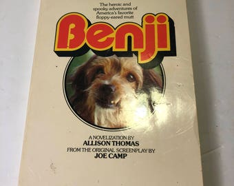 1975 benji book benji movie
