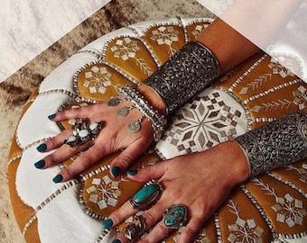 Bohemian Boho gypsy turkish celebrity coin necklace bracelet