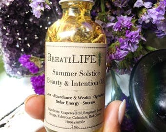 Summer Solstice Beauty & Intention Oil