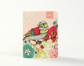 Bird and Flower | Pink