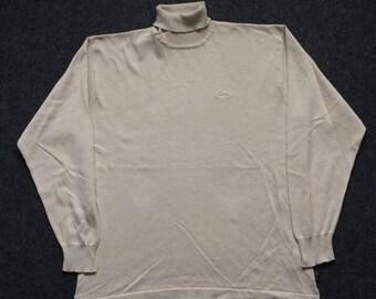 ON SALE 26% Vintage Adidas Turtleneck Indie Hip Hop Britpop Rare 90s T shirt