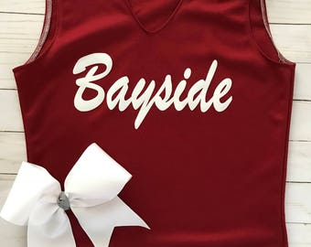 Adult Saved By The Bell Cheer Uniform