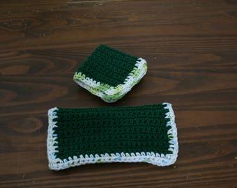 Green Dishcloth (Set of 2)