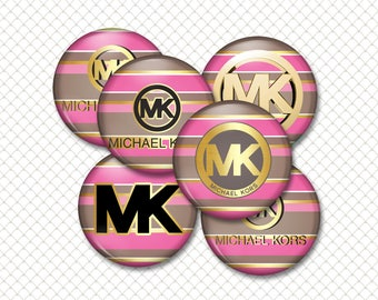 INSTANT DOWNLOAD- MK-1 4x6 Digital Printable 1 Inch Circle Bottle Cap Images