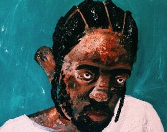 Kendrick Lamar DAMN (Original Painting)