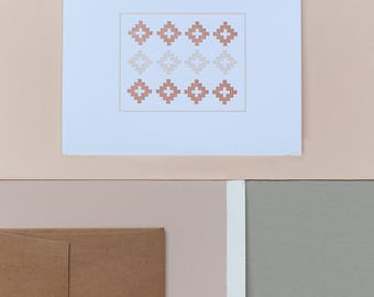 American Quilt No. 3 Card
