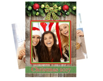 christmas photo booth, christmas photo props, christmas photo booth props, holiday photo booth, photo prop selfie frame, holiday party ideas