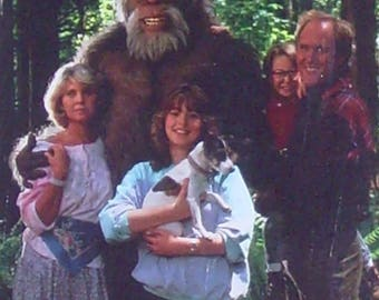 Harry and the Hendersons, Sasquatch Movie, Bigfoot Movie, Yeti, Yowie, Meh-Teh, John Lithgow, Fun Family Movie, Whole Family Entertainment