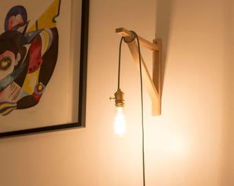 handmade copper plug in pendant light e27e26 uk or eu plug available