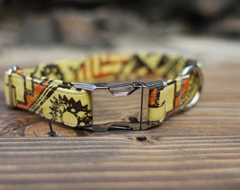 Tribal Collar | Dog Collar | Male Dog Collar | Female Dog Collar | Novelty Dog Collar | Pet Collar | Large Dog Collar | Small Dog Collar