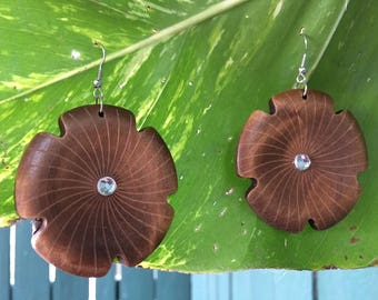 Wooden Earrings, Flower Earrings, Elephant Earrings, Bohemian Earrings, Valentine's Day Gifts, Bohemian Earrings,