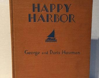 Vintage Children's Book - Happy Harbor
