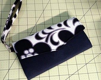 Woman's Wallet Wristlet Handmade