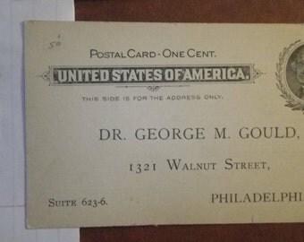 US Postal Card - scott cat. UX14