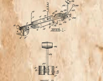 Combination Kitchen tool Patent# 1287413 dated December 10, 1918.