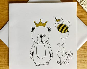 Royal Bear and Queen Bee