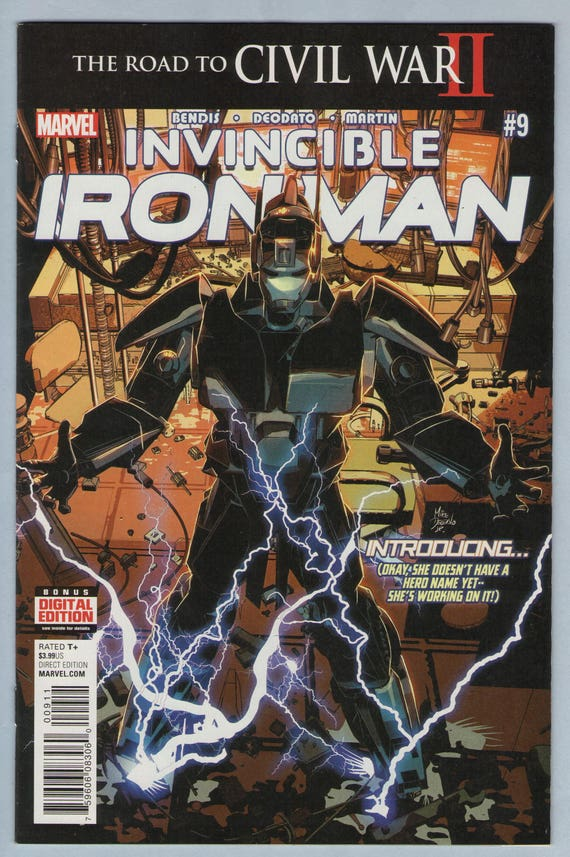 Invincible Iron Man V2 9 July 2016 NM- (9.2)