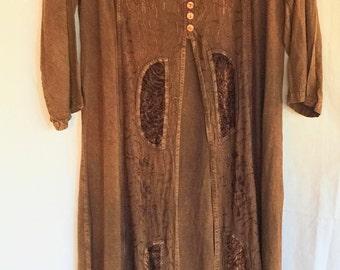 India Dress,Long Hippie Dress,Hippie Dress,Brown Hippie Dress,Boho Long Dress,70s India Dress,Hippie India Dress,Boho India Dress,70s Dress