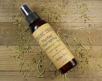 HERBAL HAIRSPRAY   Natural Hairspray   Medium/Flexible Hold Hairspray   Vegan Hairspray   Chemical-Free Hairspray