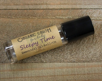 Baby SLEEPY TIME Essential Oil Roll-on | Natural Sleep Aid for Babies | Essential Oils for Babies | Calming Oils for Babies