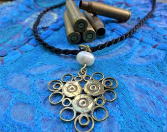 Ammo Jewelry: Made from recycled Bullets. Fair Trade from Cambodia