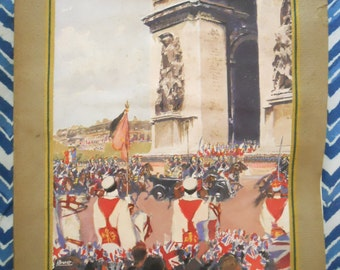 Illustrated News Book GeorgeVI Queen Elizabeth State Visit to France 1936. Monarchy. British Royal Family.