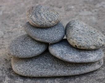 Zen Balance Sculpture - Stress Relief Gift for Him - Rock Cairn - Meditation Stone Stack - Mindfulness