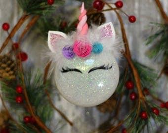 Unicorn Ornaments - unicorn Christmas ornament - unicorn gift - unicorn lover - unicorn gifts for girls - unicorn gifts for women - Unicorn