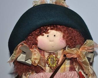Little Souls Doll, Little Souls Original, Gretchen Wilson, Dolly Mama, 24 Inch Cloth Doll, Little Souls Diana, Vintage Doll, OOAK Doll