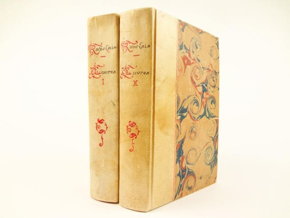 1926 Rabelais - Gargantua,Pantagruel & other works. Classic 16th century French satire.