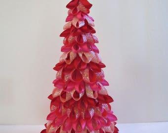 Sassy Valentine Ribbon Tree
