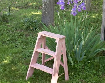 Ladder Plant Stand Etsy
