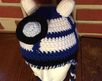 The DarDis Hat    Dalek & Tardis    Doctor Who Inspired    Crochet Hat
