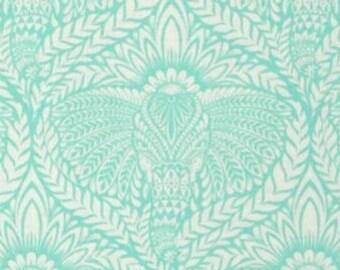 Tula Pink Cotton Woven Fabric; One fat Quarter; Eden Deity in Mojito