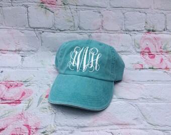 Baseball cap with center Monogram--SUMMER GEAR**