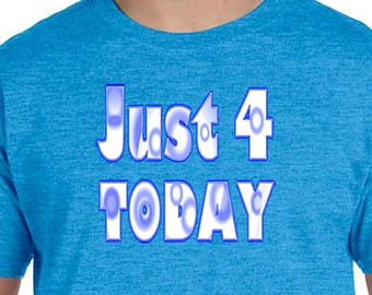 NA - JUST 4 TODAY   -  T-shirt - Color Options - S-5X - 100% cotton heat press t's   Free Shipping