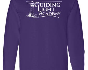 Guiding Light Academy - Long Sleeve w/ full front impression