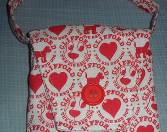Clifford the Big Red Dog Purse