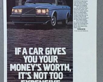 1980  Volvo GLE Print Ad