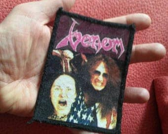 Venom !! Vintage used patch 80s . the sulfurous patch !!