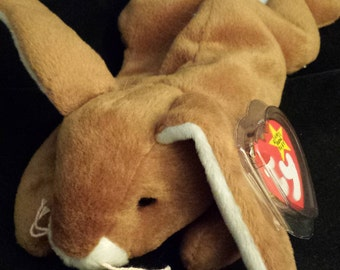 TY Beanie Baby - Rabbit, Ears - April 18, 1995
