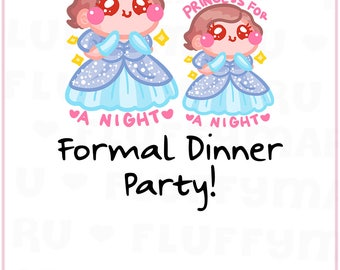 Formal Events Sammie || Planner Stickers, Cute Stickers for Erin Condren (ECLP), Filofax, Kikki K, Etc. || SFS151