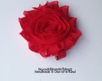 Shabby Flower 2.5"