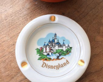 Vintage Disneyland Souvenir Ashtray