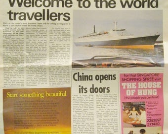 Lion City Singapore's Newspaper For Visitors March 12, 1978