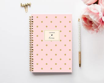 2018 Planner - 2018 Weekly Planner - Personalized Planner - 2018 Diary - Custom Gift -  2018 Agenda - A5 Planner