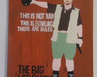 The Big Lebowski painting