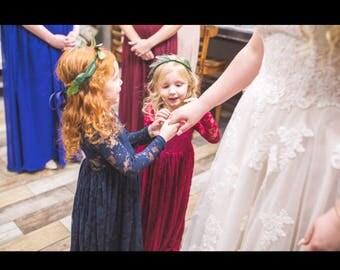 Custom flower crown, floral crown, wedding, engagement, Tiara