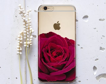 iPhone 6s Case Floral iPhone 4s Case Rose iPhone 6 Clear Case iPhone 5 Case Flower Cute iPod Touch 5 Case Samsung Galaxy S6 Case Vintage 161